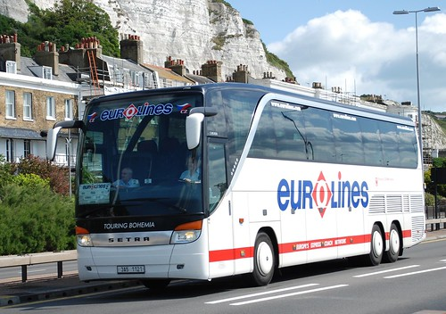 3A5 1121, Eurolines Setra at Townwall Street Dover | by Bud75