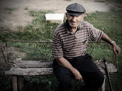 N Romanian Old Man   An ...