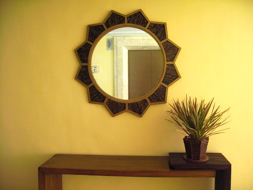plant table mirror | by storymaker