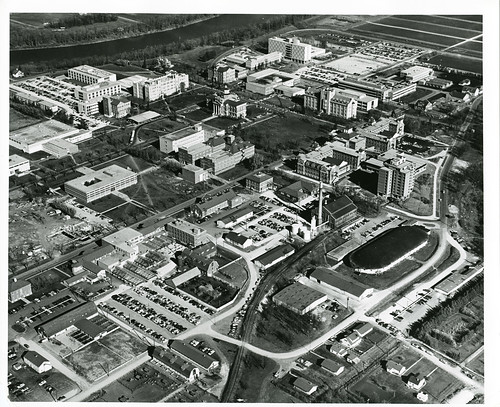 University of Manitoba Looking North, October 14, 1964, Winnipeg (1964) | by Manitoba Historical Maps