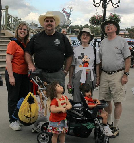 Bird Flyover at Disney World- can you spot the real bird watchers? | by Kenneth Cole Schneider