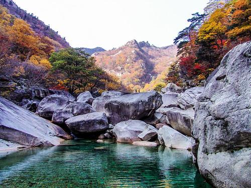Diamond Mountains    Kumgangsan  North Korea