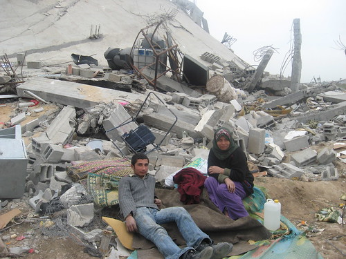 Gaza, homeless people in Alatara | by Physicians for Human Rights - Israel