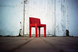 little red chair | by lomokev