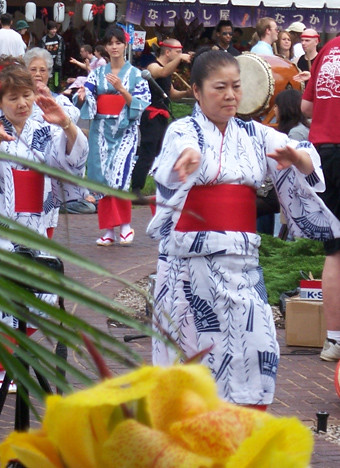 Japanese Festival 2009 Bon Odori Dancers Circle The Centra Flickr
