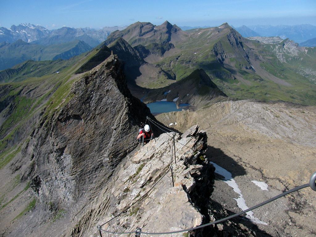 Klettersteig Bern : Klettersteig aufs schwarzhorn kanton bern schweiz flickr