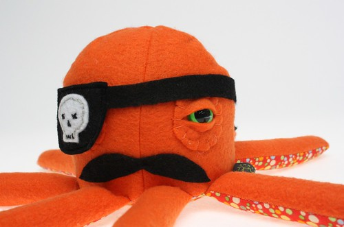 Aidan O'Malley the Pirate Octopal | by sandi d.