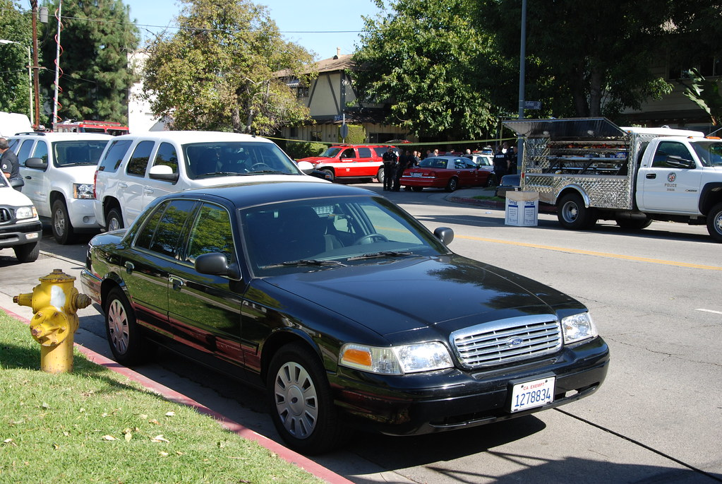 Los Angeles Police Department Lapd Ford Crown Victoria Flickr