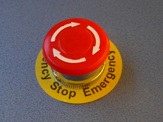 Emergency Stop Button | by dumbledad