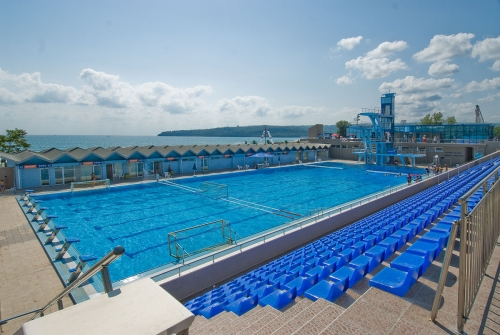 olympic size swimming pool