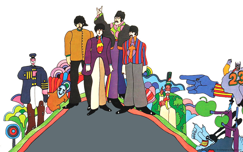 The Beatles Desktop Wallpaper 1680x1050 05