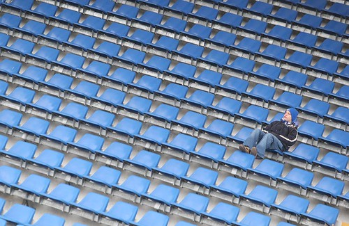 Supporter in Blue | by photoreti