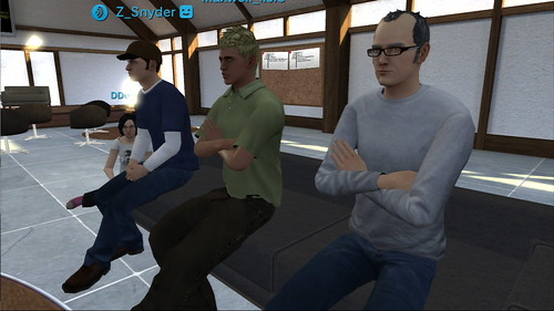 Groundbreaking Virtual World Q&A in PlayStation Home for WATCHMEN | by Annie Ok