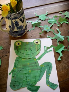 frog crafts | by secret agent josephine