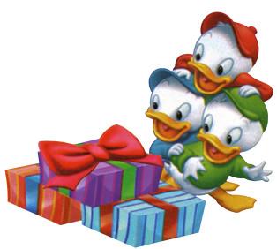 huey duey luey duck presents christmas jes vazquez flickr