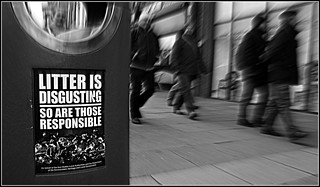 Litter is disgusting | by stuart.noble