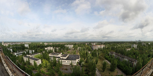Pripyat panorama abandond city of the Chernobyl disaster | by Zombie Inc. Wholesale Zombies for Over 25 years