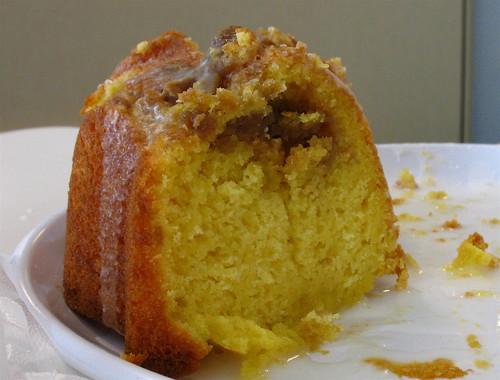 Lemon Streusel Bundt Cake