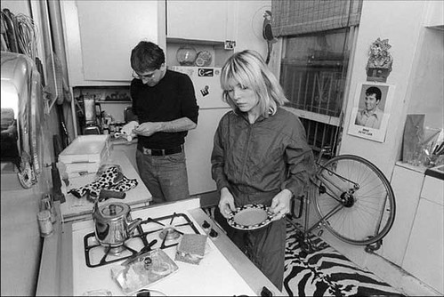 Blondie cooking at home. | by Yoko Ono official