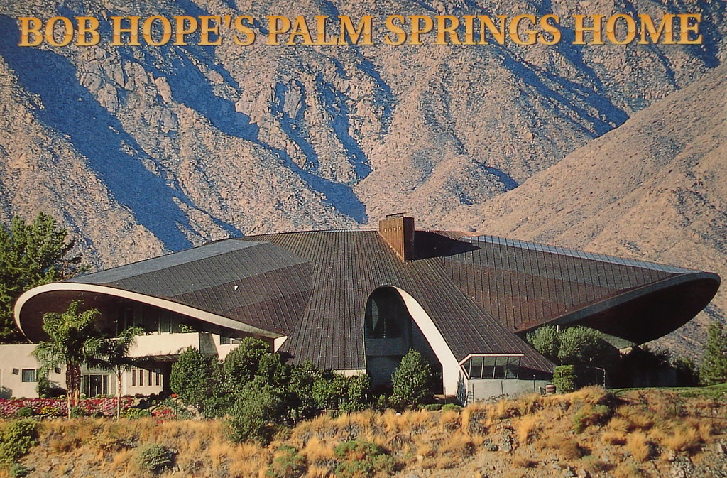Bob hope palm springs home pictures.