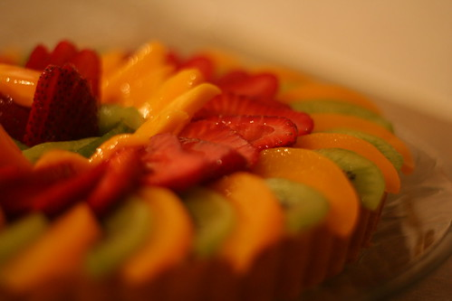 German Fruit Flan Cake Recipe