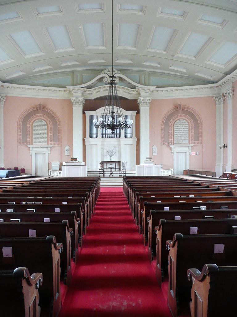 ... Portsmouth, NH South Church (Stone Church) Interior | By Army.arch