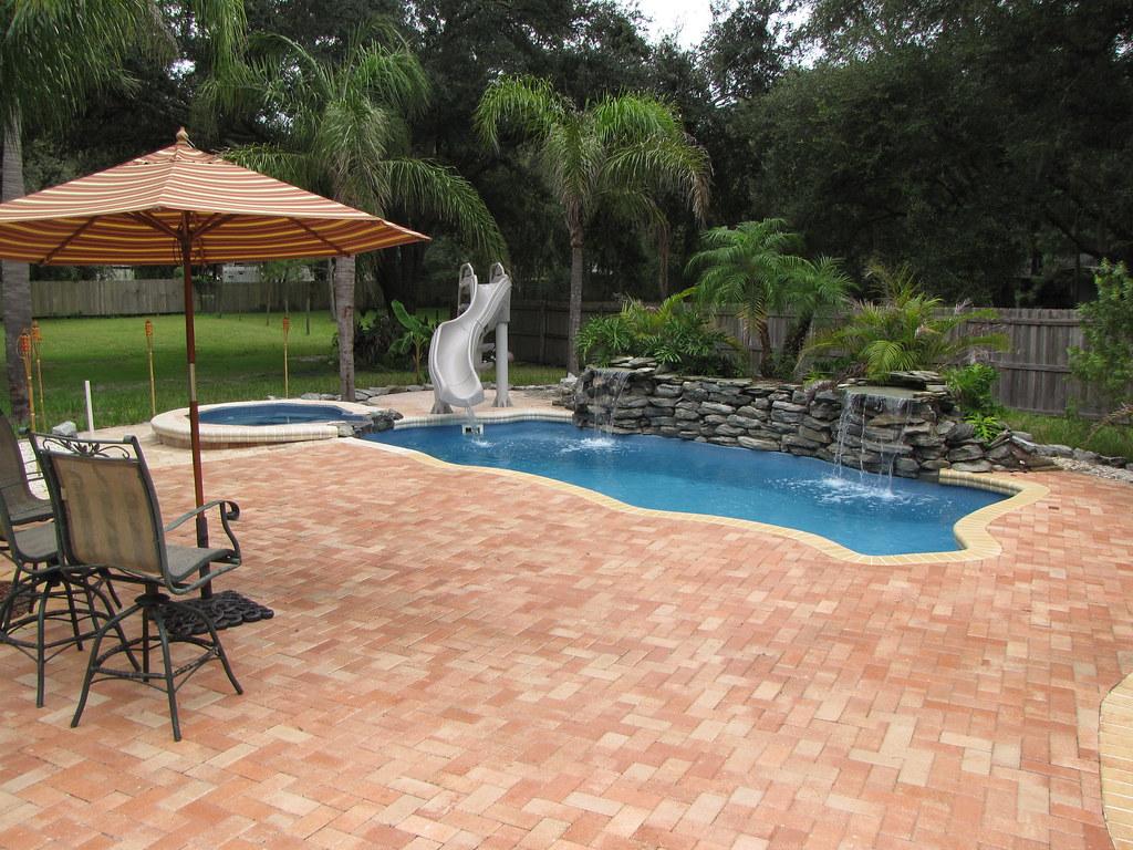 backyard pool creations inc spring hill fl fiberglass pools