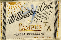 All Weather Coat Label | by Benjamin D. Hammond