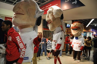 The Nationals racing presidents invade Verizon Center | by Photos from the blog at LetTeddyWin.com