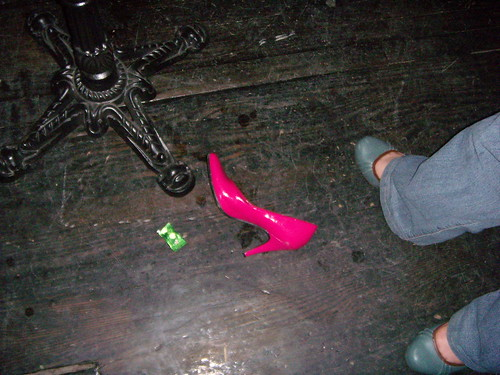 i abandoned my shoe when leyda came in | by christine...elizabeth...
