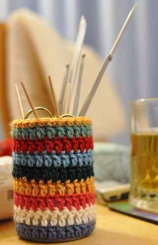 What Does Crochet Mean : ... does that mean anyway?) into a handy container for my knitting/crochet