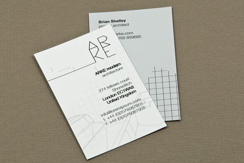 ... Architecture Firm Business Card   By Inkdphotos