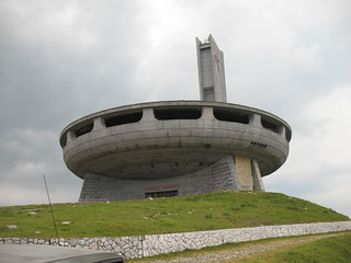 UFO building on the top of the Mountian - Buzludzha | by Gonzlaught