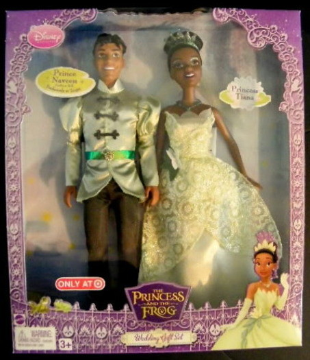 The Princess and the Frog Wedding Doll Set | This I found at… | Flickr