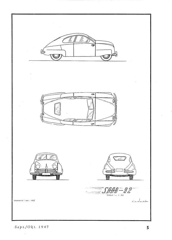 Pt Presenterar Saab 92 Blueprint