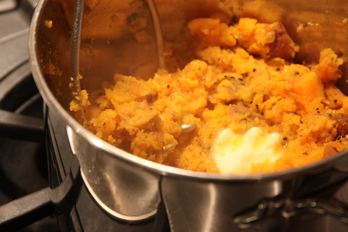 mashed sweet potatoes | by katinlee
