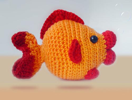 Amigurumi Fish Free : Amigurumi Fish for Creature Crochet Sanda J ...
