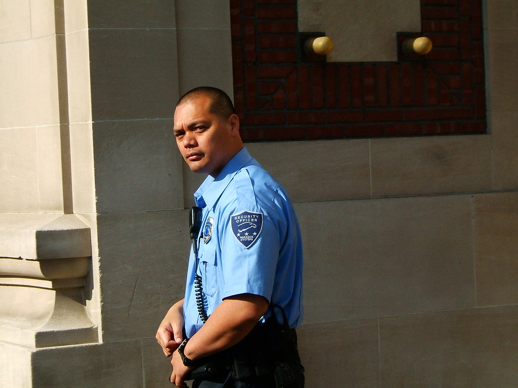 Paragon Systems Security Guard. Associated with Courthouse… | Flickr