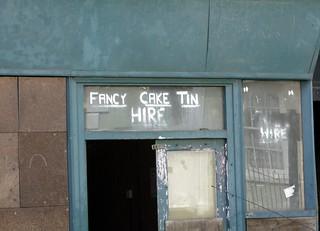 Cake Tin Hire Huddersfield