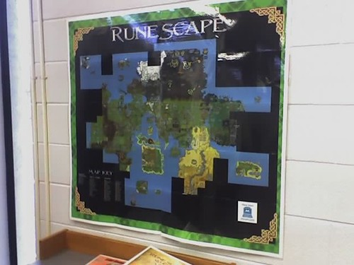 Runescape poster on the wall techsoup for libraries flickr runescape poster on the wall by techsoup for libraries gumiabroncs Images