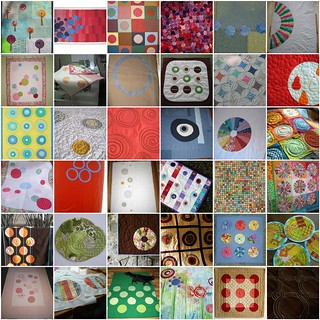 Inspiration: Quilts with Circles | by turning*turning