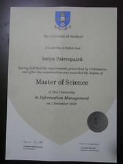 Graduation Certification