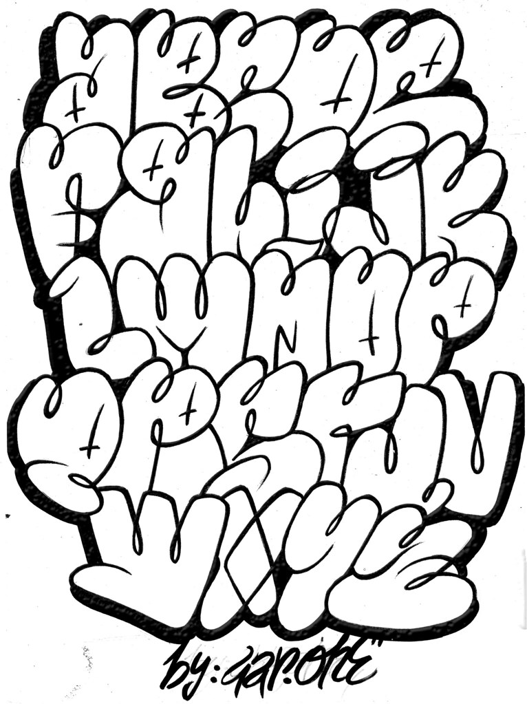 Throw Up Lettering And New One Www Flickr Com Photos Gar Flickr