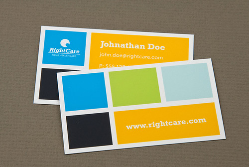Healthcare business card with colored squares healthcare b flickr healthcare business card with colored squares by inkdphotos colourmoves
