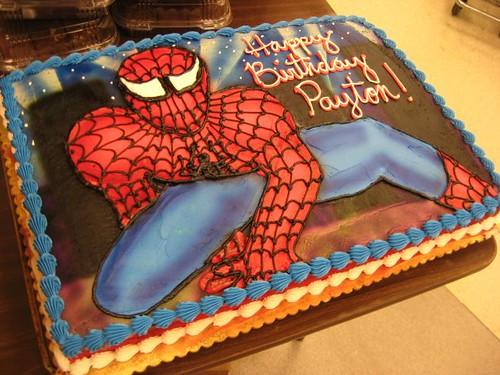 Full Sheet Spiderman Free Handed A Spider Man Design