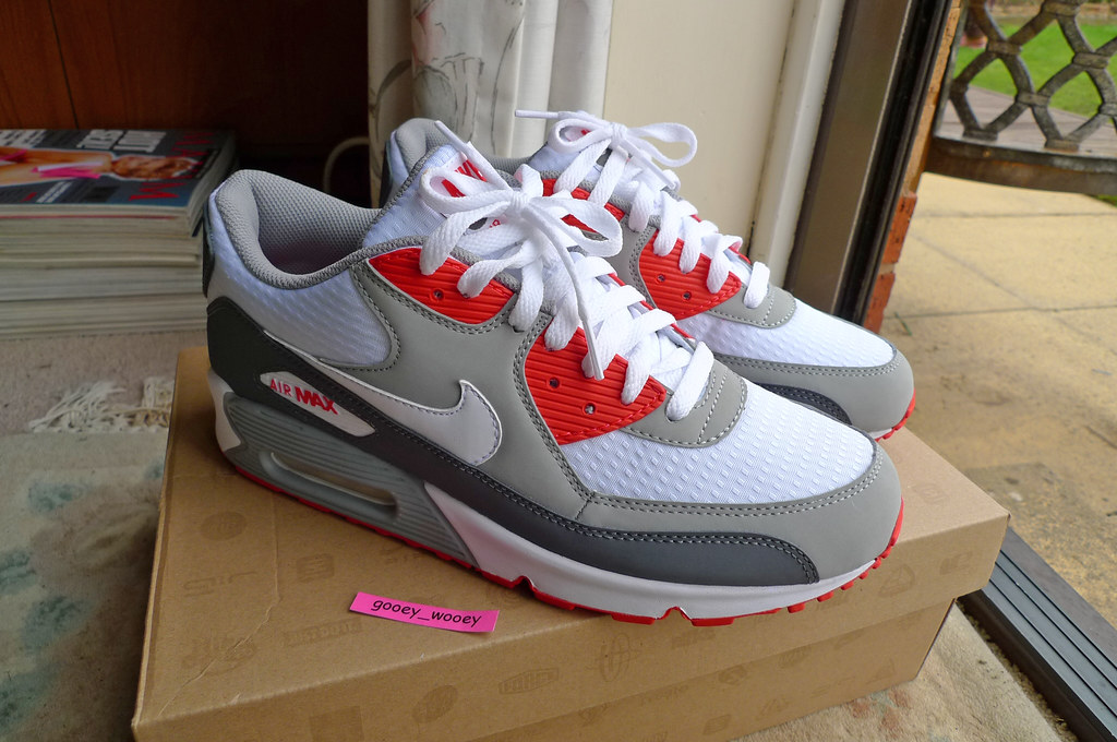 new concept c0732 15dd9 by gooey wooey Nike Air Max 90 Classic  Hot Red  JD Sports exclusive.   by  gooey wooey