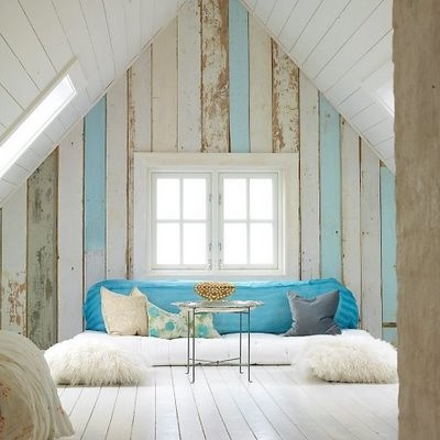 blue and white loft | by The Sugar Monster