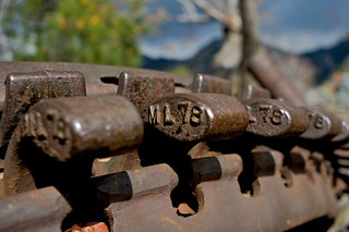 Cable Drive Bull Gear - Mt. Lowe Railway, Echo Mountain | by --Mark--