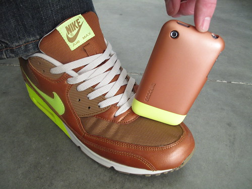 Copper + Fluorescent Green | by Incase.