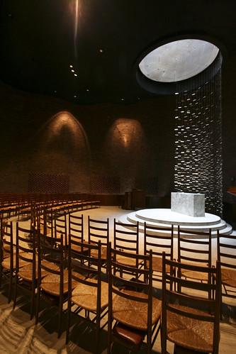 Mit Chapel Eero Saarinen This Non Denominational